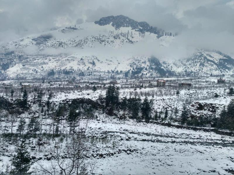 Biała góra zdjęcia royalty free