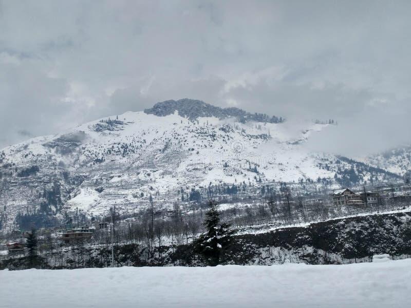 Biała góra zdjęcia stock