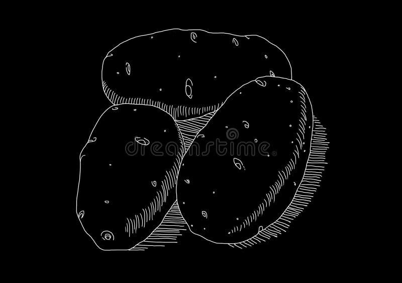 Biała grula na czarnym tle zdjęcie royalty free