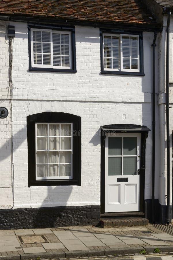 Biała i czarna chałupy fasada, Henley na Thames obraz stock