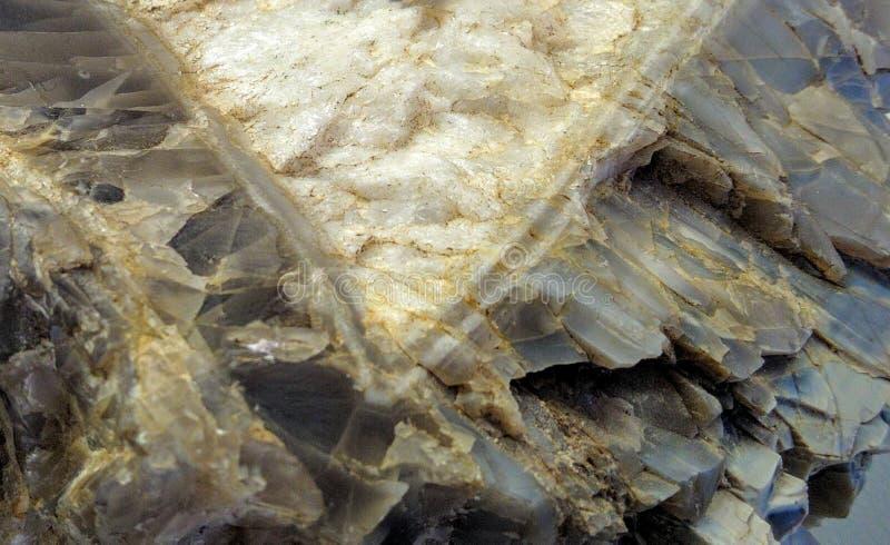 Biała i czarna powulkaniczna ogniowa skała obrazy stock