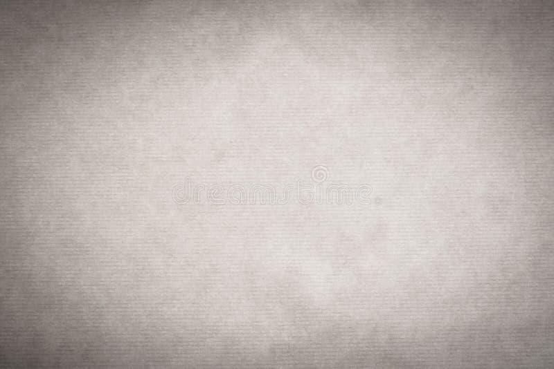 Biała Kraft papieru tekstura zdjęcie royalty free
