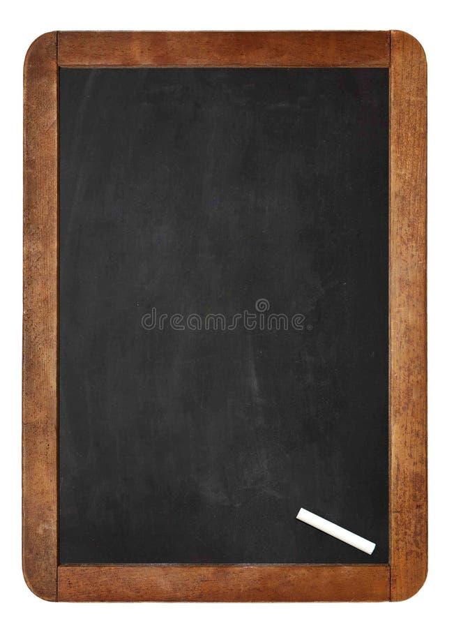 Biała kreda na tle, pustym miejscu Opróżniałam Kredowej deski/ obrazy royalty free