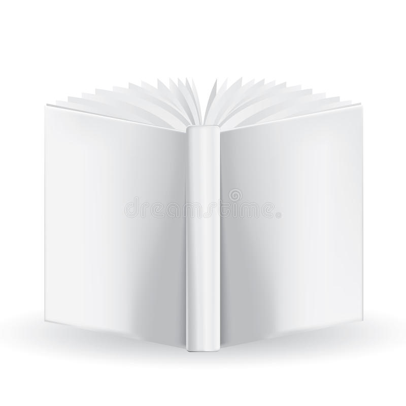Download Biała Książka Dla Twój Swój Projekta Na Białym Tle. Mesa Ilustracji - Ilustracja złożonej z paperback, wyznaczający: 28950073