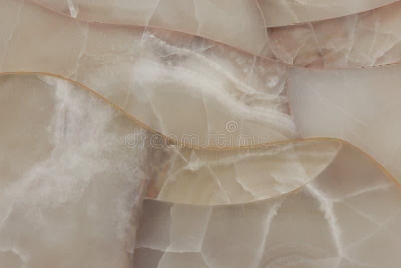 Biała kwarcowa naturalna kamienna mozaika, gemstone nawierzchniowy tło c zdjęcia royalty free