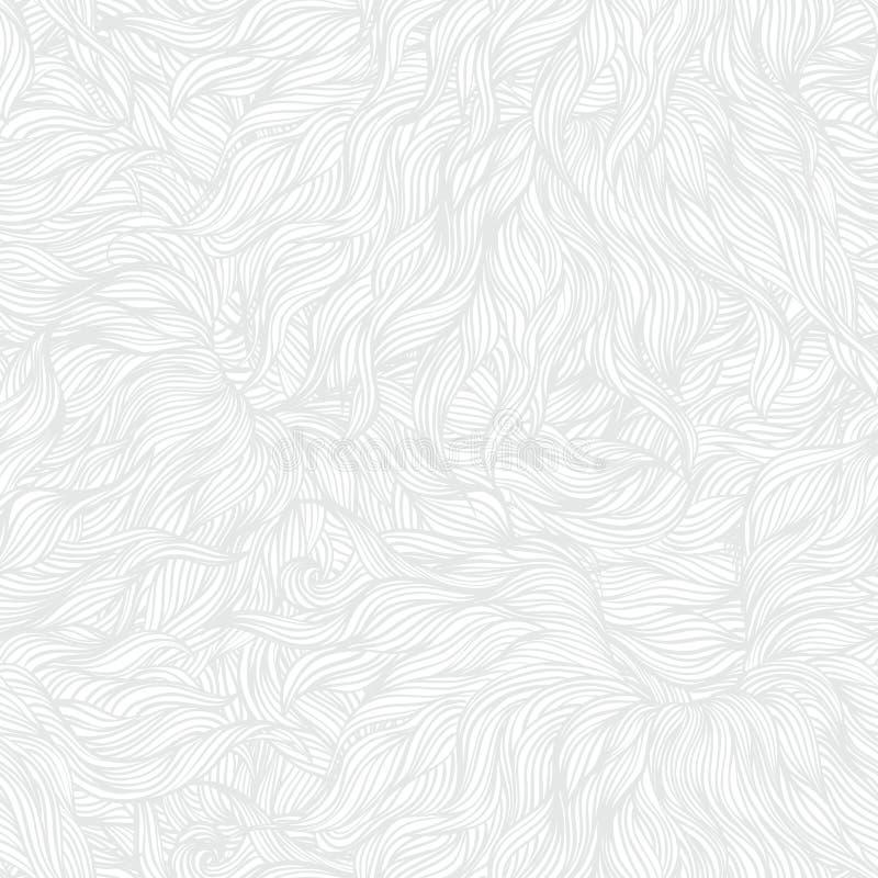 Biała liniowa tekstura w rocznika stylu ilustracja wektor