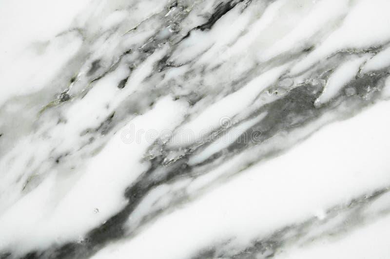 Biała lub jasnopopielata marmurowa tekstura obraz royalty free