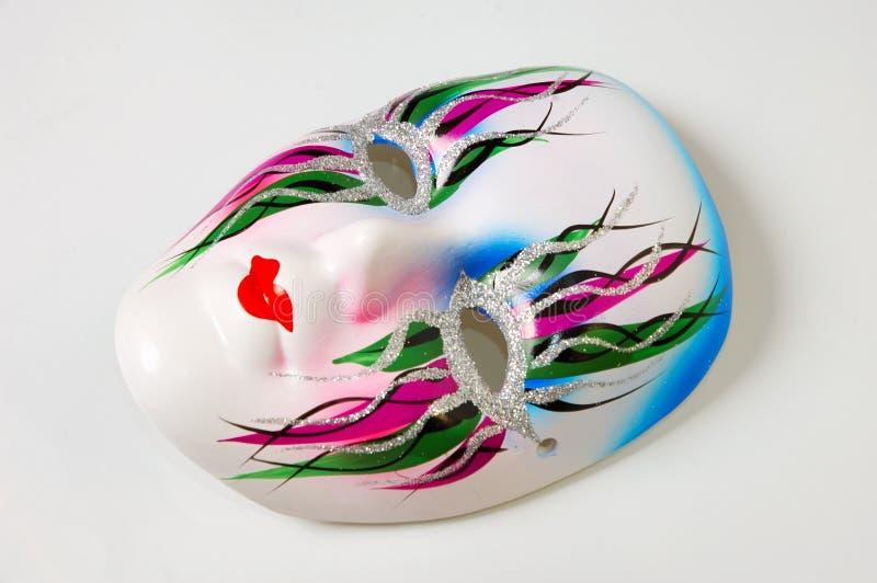 biała maska zdjęcie royalty free