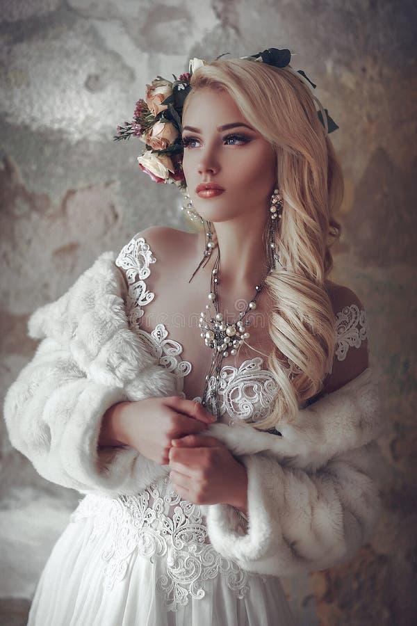 Biała melodia obrazy royalty free