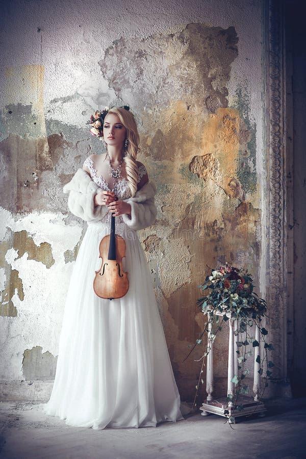 Biała melodia obraz royalty free