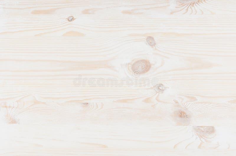 Biała naturalna drewno deska zdjęcie stock