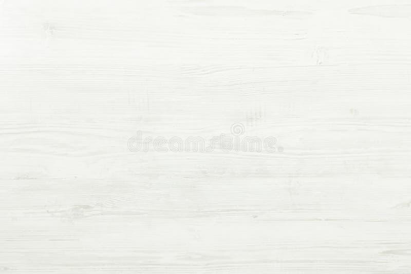 Biała Organicznie Drewniana tekstura tła drewniany lekki Stary Myjący drewno obraz stock