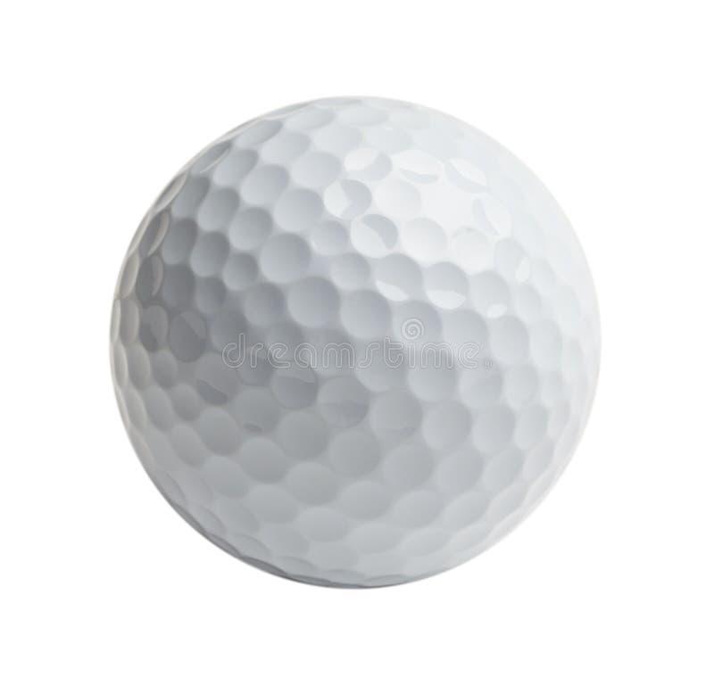 Biała piłka golfowa obraz stock