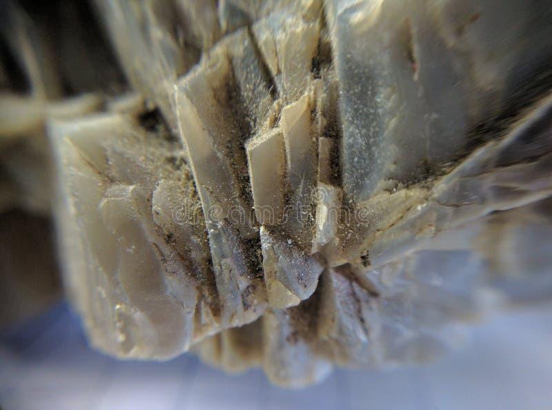 Biała powulkaniczna ogniowa skała obraz stock