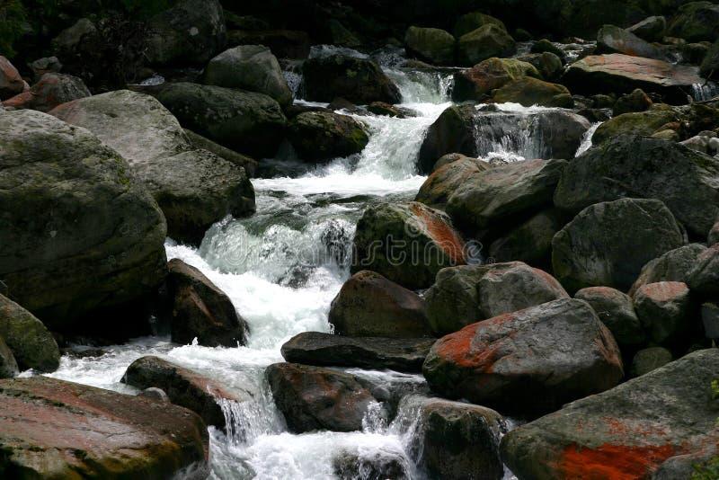 biała rzeka zdjęcia stock