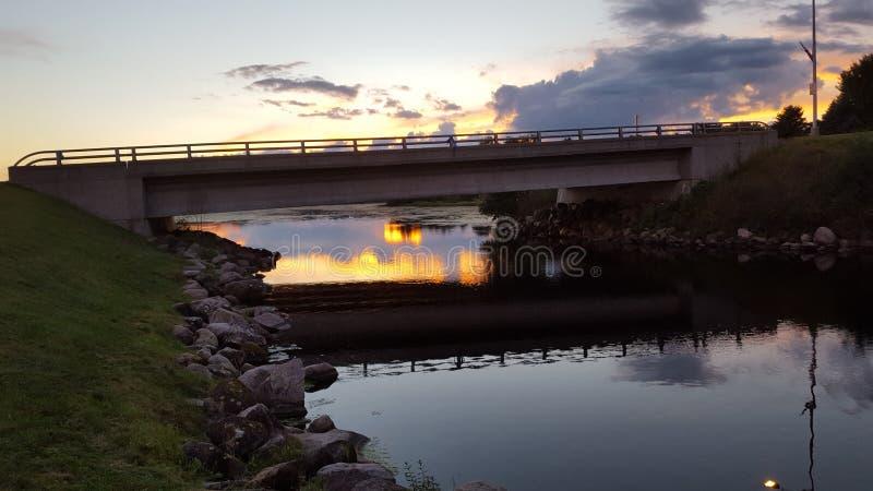 Biała rzeka zdjęcie royalty free