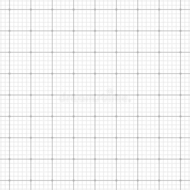 Biała siatka przeciw szaremu tłu 10 eps royalty ilustracja