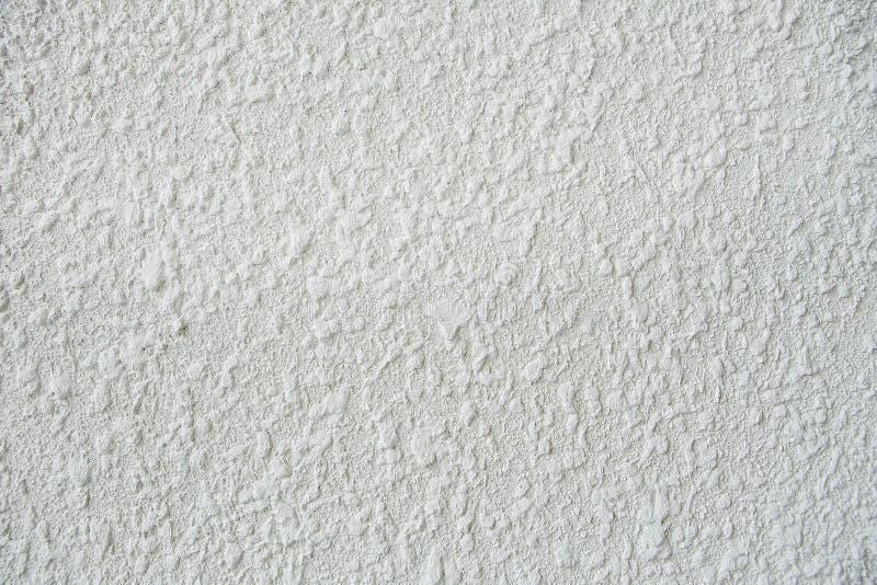 Biała stiuk ściana obrazy stock