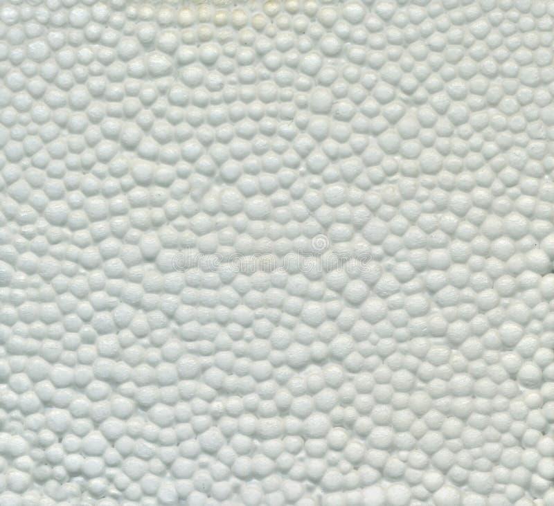 Biała Styrofoam tekstura obraz stock
