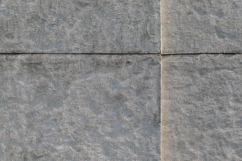 Biała szorstka ściana dekorująca z kalibrującą kwarc, marmur, grań fotografia stock
