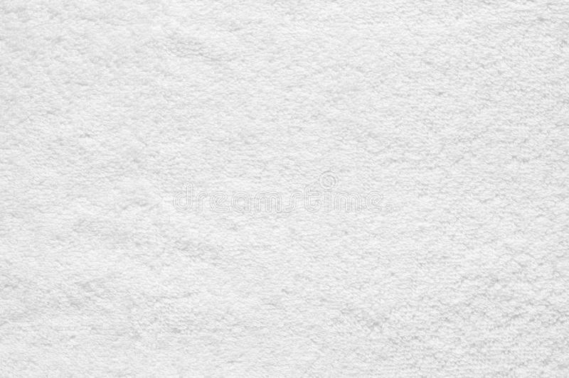 Biała Terry płótna tekstura zdjęcia royalty free
