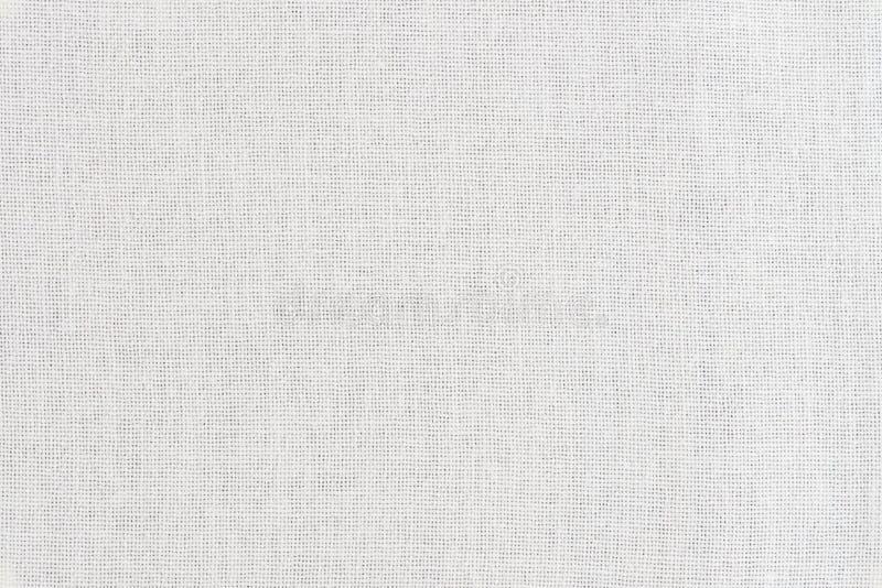 Biała tkaniny tekstura obraz stock