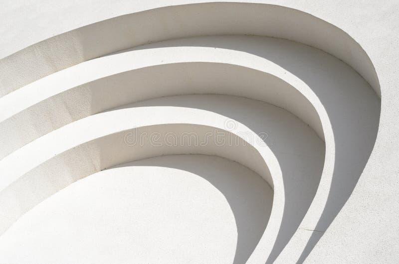 Biała tynk ściany tła tekstura fotografia stock
