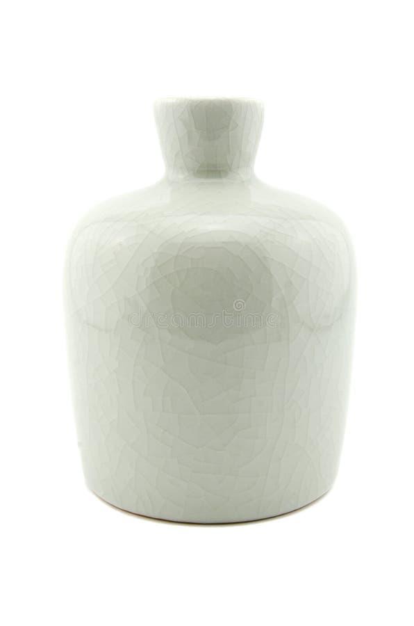 Biała waza zdjęcia stock