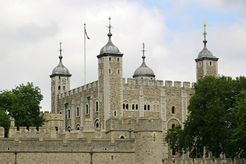 biała wieża obraz royalty free