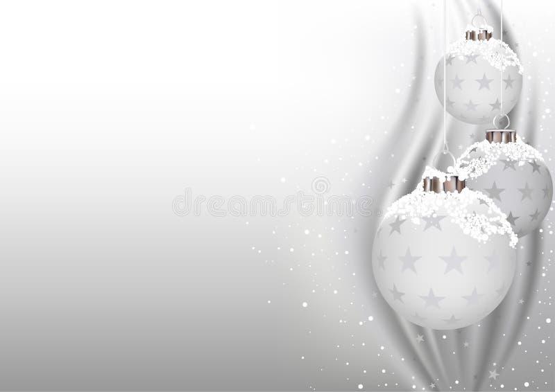 białe święta ilustracja wektor