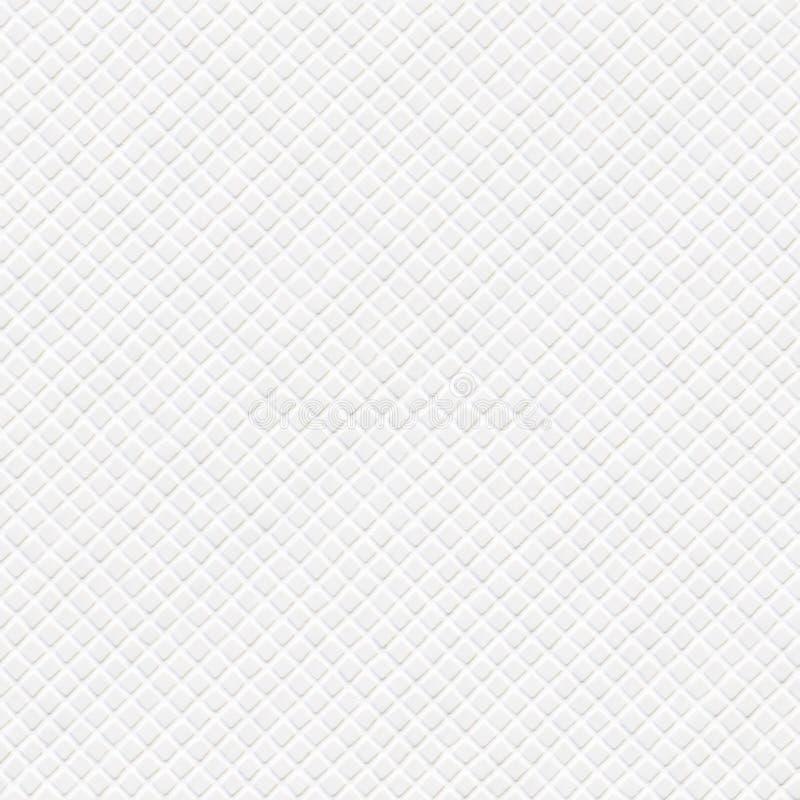 Białe ceramiczne diamenty zdjęcie stock