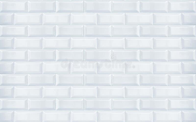 Białe ceramiczne płytki obraz stock
