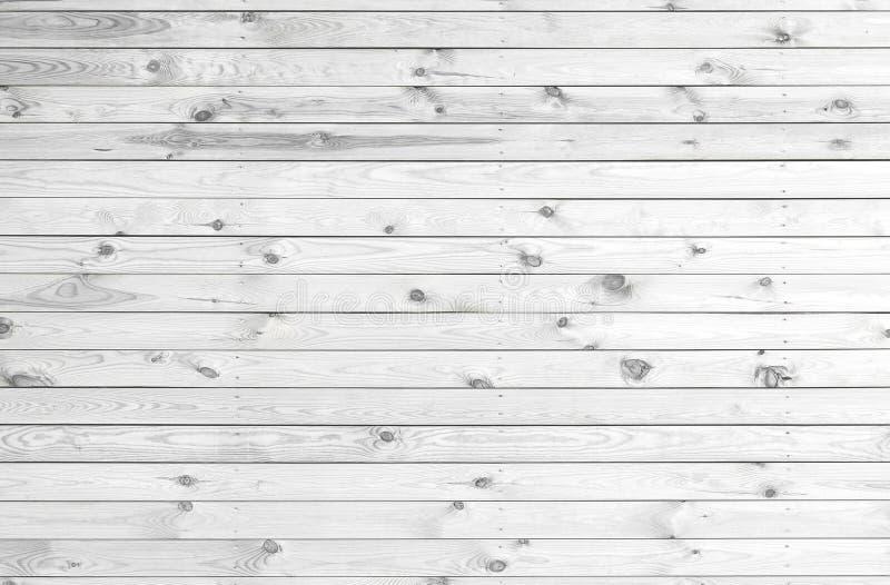 Białe drewniane deski zdjęcia royalty free