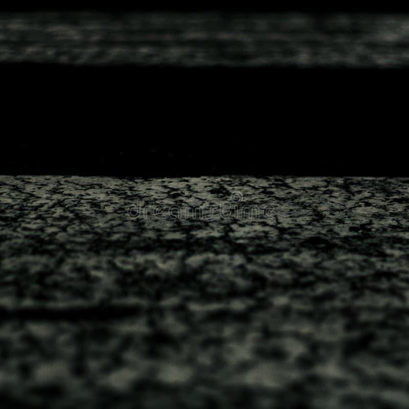Białe linie rozdroże obrazy stock