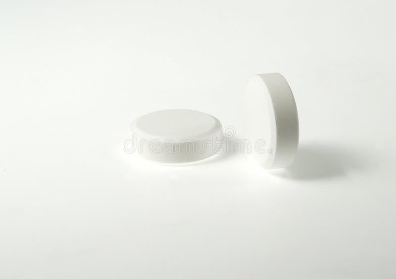 białe tabletki obrazy stock