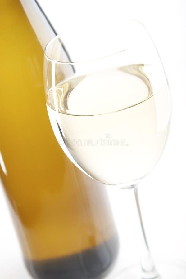 białe wino fotografia royalty free
