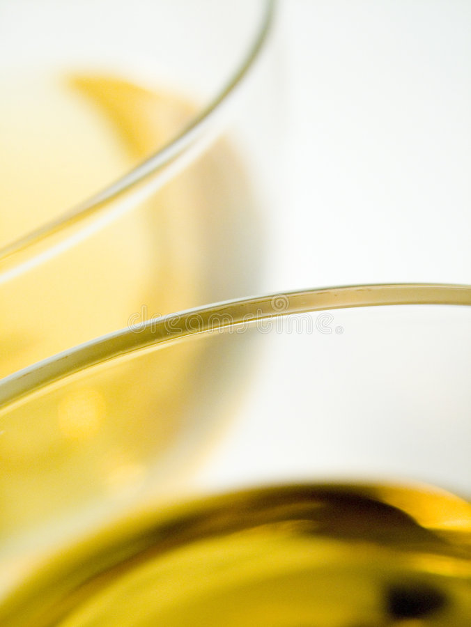 białe wino obrazy stock