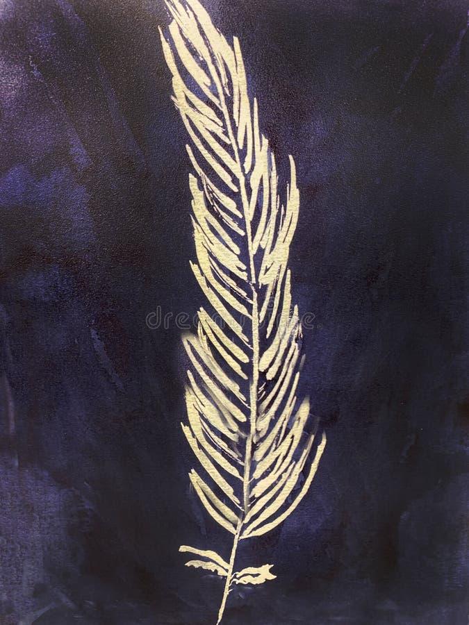 Białe wtapianie na niebieskiej teksturze tła obrazy stock