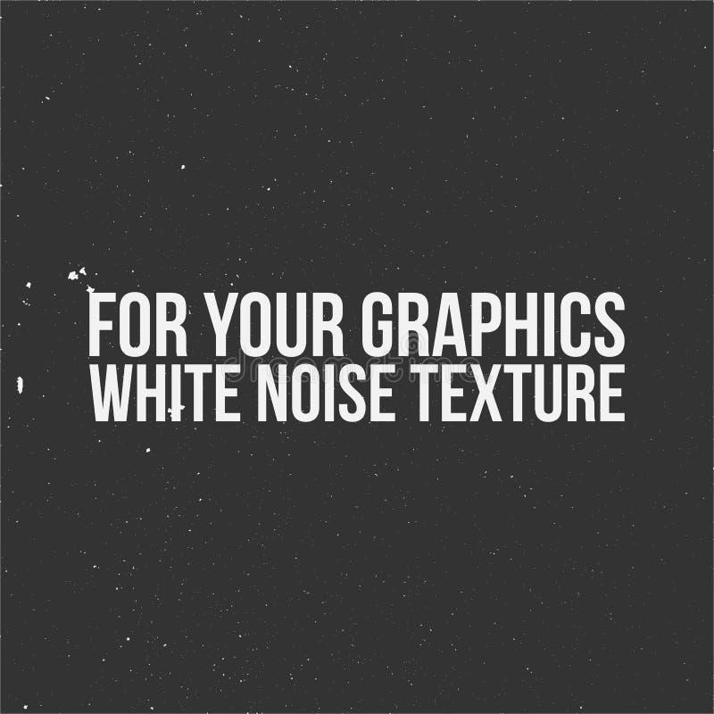 Białego hałasu tekstura dla Twój grafika ilustracja wektor
