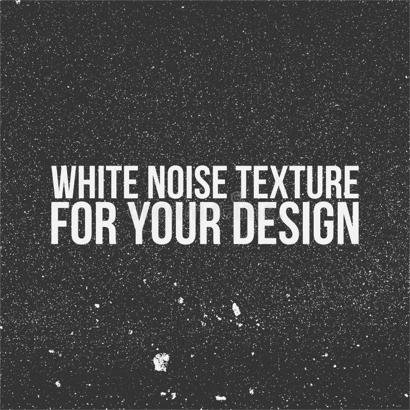 Białego hałasu tekstura dla Twój projekta ilustracja wektor