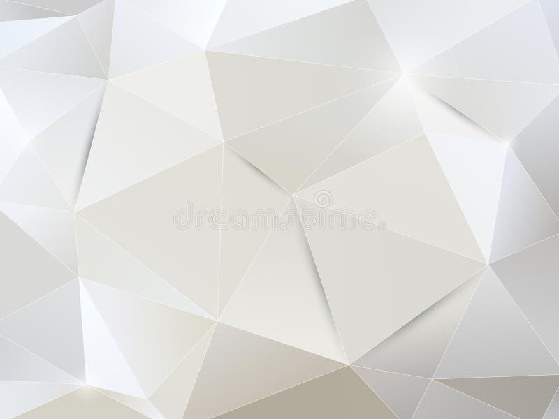 Białego papieru abstrakta tło royalty ilustracja