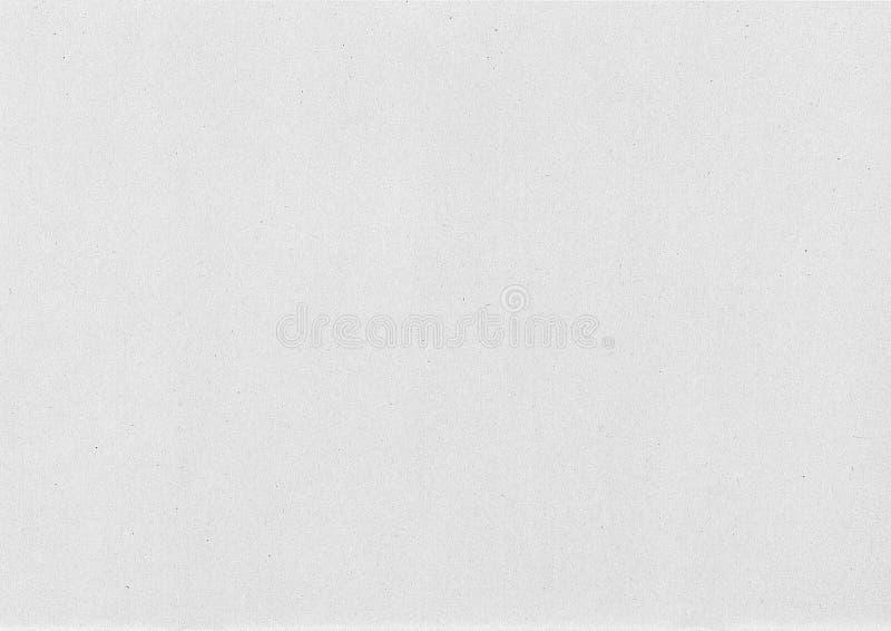 Białego papieru tekstura dla tła lub pracy projekta obrazy stock