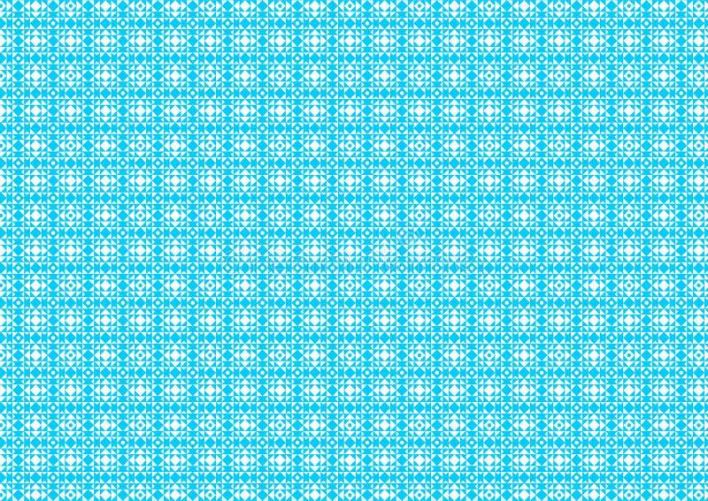 Białej Błękitnej Orientalnej Ornamentacyjnej Kwiecistej natury Imlek Ramadan festiwalu wzoru tekstury tła Chińska Arabska Islamsk ilustracja wektor