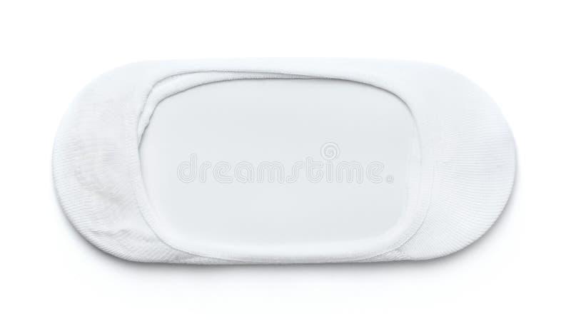 Białej bawełnianej depresji rżnięta kostka zdjęcie royalty free