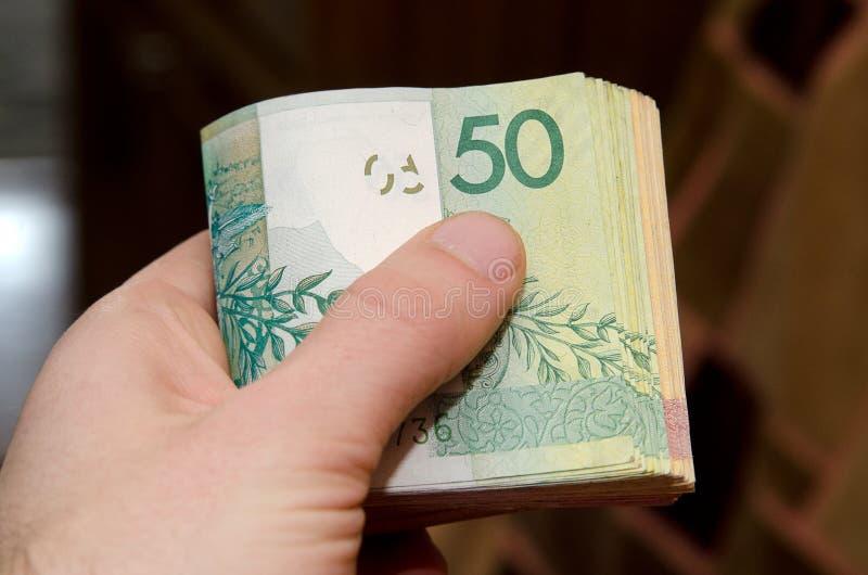 Białoruski pieniądze BYN Białoruś pieniądze zdjęcia royalty free