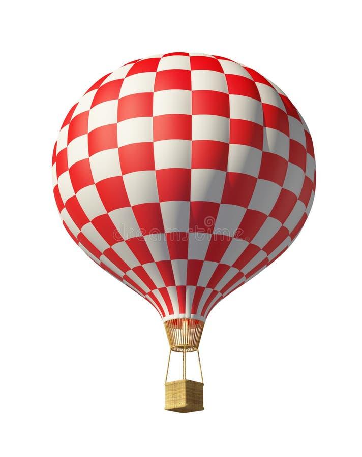 Biały balon ilustracja wektor