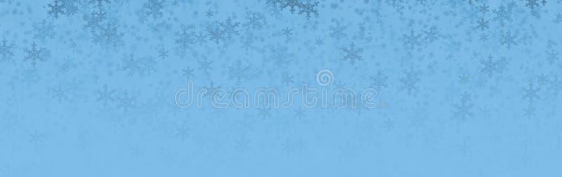biały Boże Narodzenie płatek śniegu royalty ilustracja