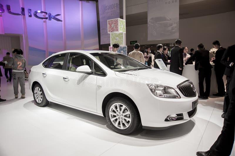 Biały buick excelleGT samochód obraz royalty free
