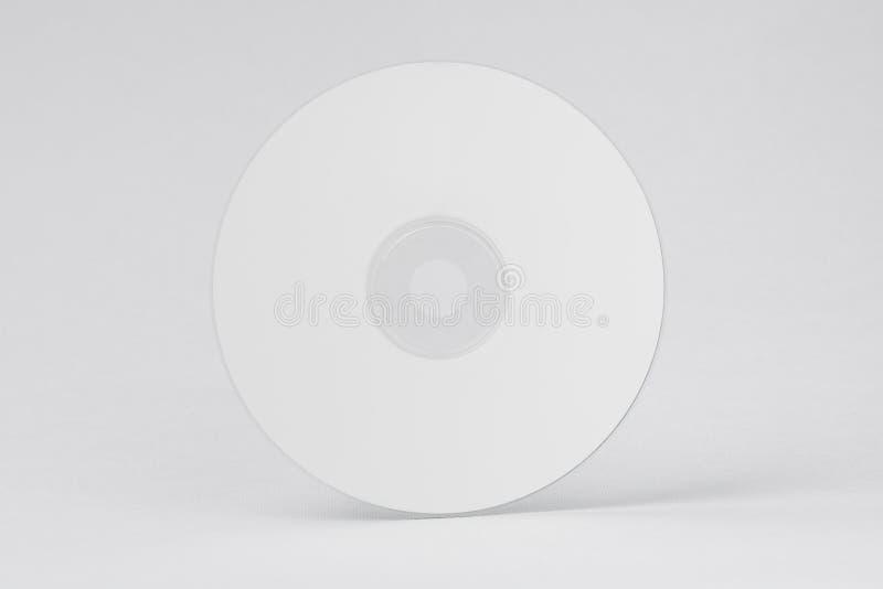Biały CD DVD zdjęcie royalty free