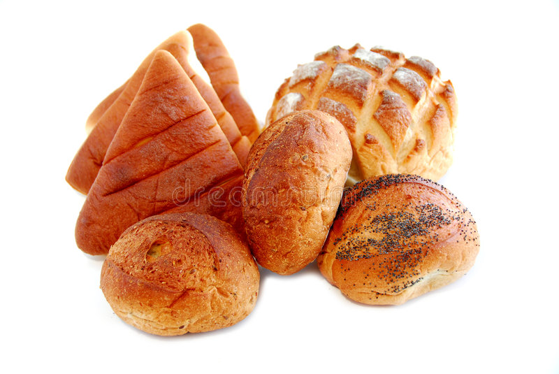 biały chleb fotografia stock